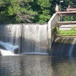 Dam on the Iowa River
